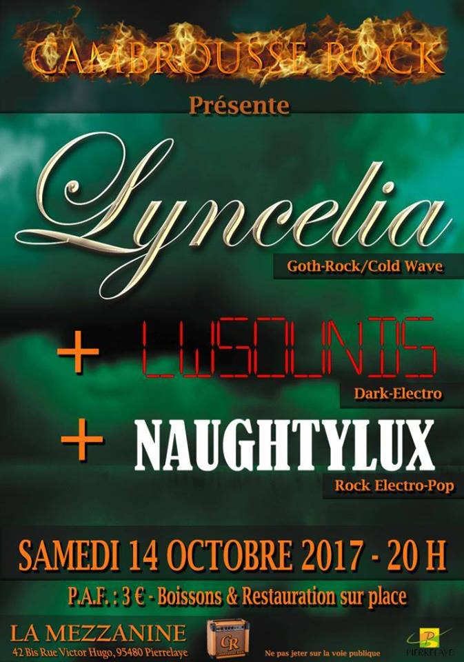 Lyncelia 14 October 2017 Pierrelaye