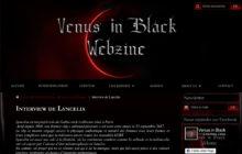 Lyncelia Interview for venus in black webzine